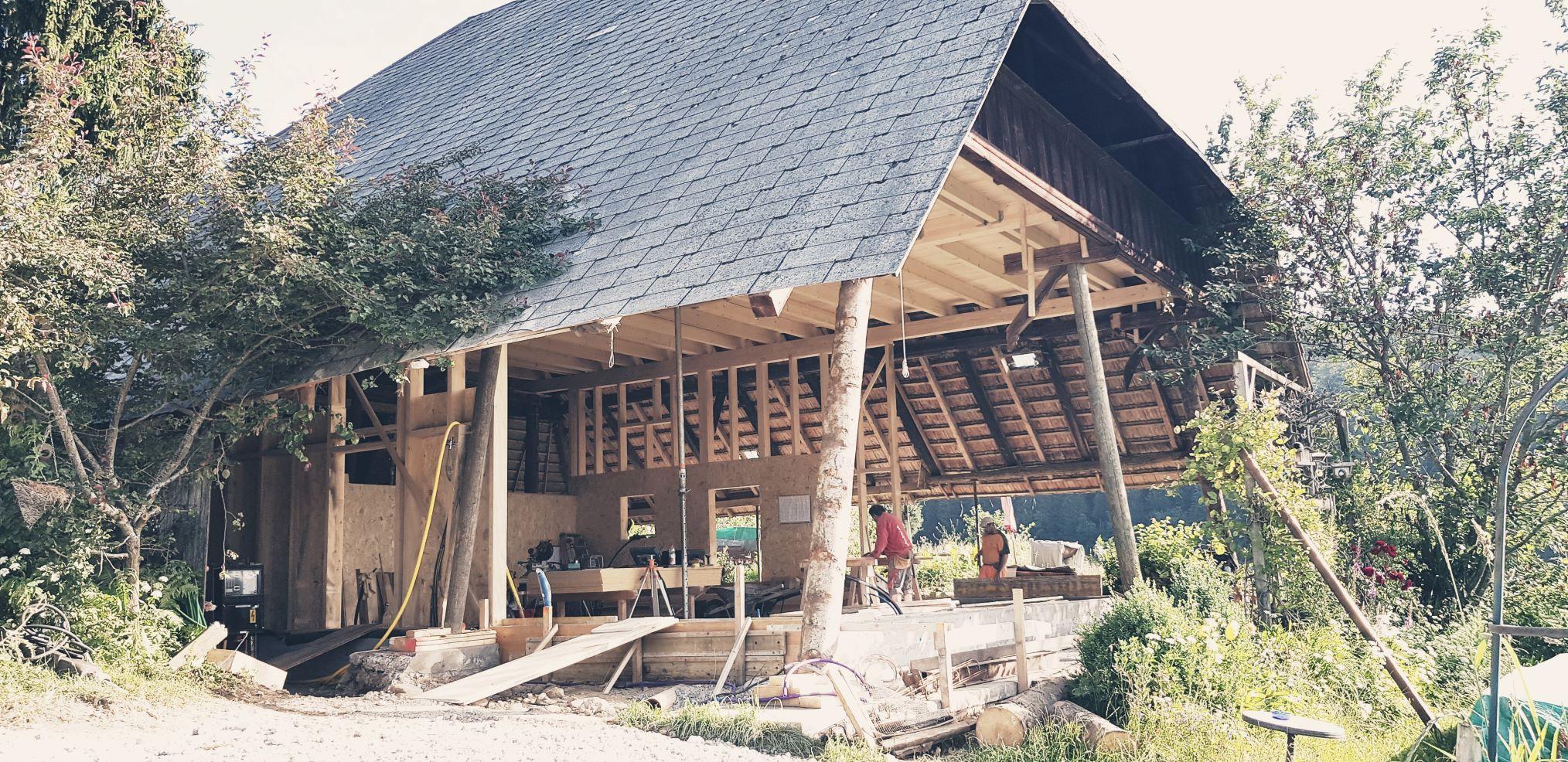 Umbau freistehendes Bauernhaus