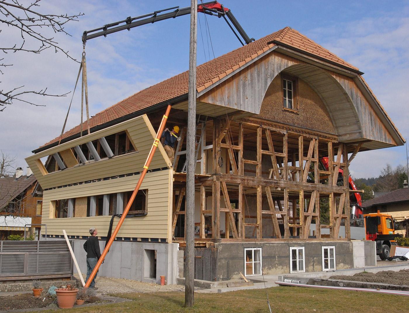 Holzbau Schreinerei Umbau Holzbausanierung